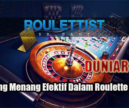Peluang Menang Efektif Dalam Roulette Online